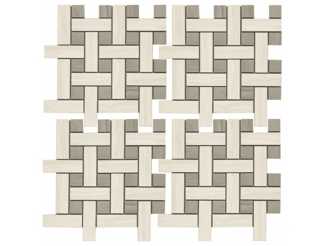 Мозаїа MARMO ACERO 30x30 BIANCO MMCXMA18
