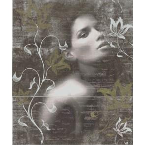 Декор Look Grafito D.Allure-1 50x60 (компл из 3-х ч.20х50)