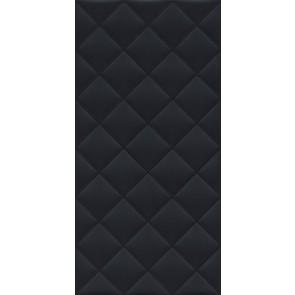 Плитка Тропикаль структура обрезной 30х60х9 черный