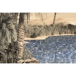Декор Luxor голубой 20x30 -2