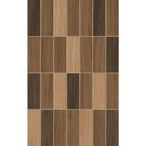 Плитка стіна Karelia Mosaic 25х40 коричневий