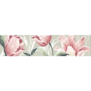 Бордюр Норфолк 30х7,2 квіти зелений