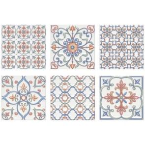 Плитка стена Суррей 20х20 разноцветный