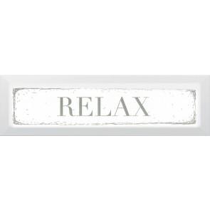 Декор Гамма Relax 8,5х28,5 зелений