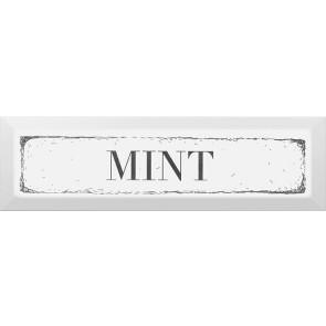 Декор Гамма Mint 8,5х28,5 чорний