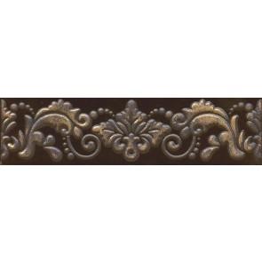 Бордюр Махараджа 30х7,2 коричневий