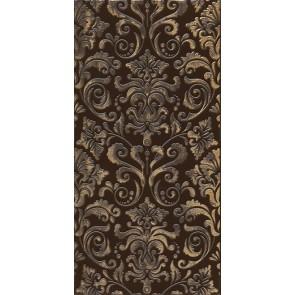 Декор Махараджа 30х60 коричневий