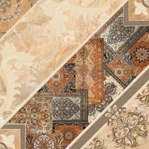 Плитка підлога Carpets 43x43 коричневий темний