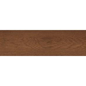 Плитка підлога Massima 15x50 червоно-коричневий темний