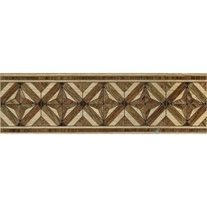 Бордюр Massima 15x50 коричневий