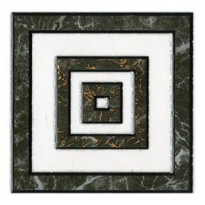 Декор ALON 10х10 сірий