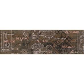 Декор Pantal 15х50 червоно-коричневий