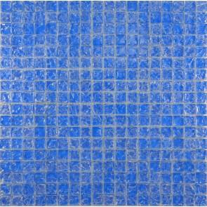 446 Мозаика моно голубой колотый