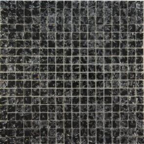 448 Мозаика моно черный колотый