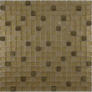 506 Мозаика микс  металлик золото
