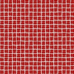444 Мозаика моно красный колотый