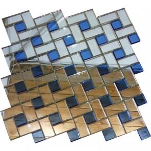 Мозаика зеркальная ZD-16 30.3х30.3