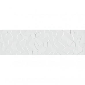 Плитка Стена WABI Shiro Crystal White  34x111