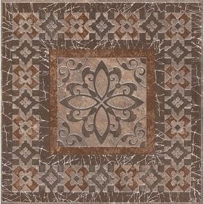 Вставка Бромлі 19.6х19.6 коричневий