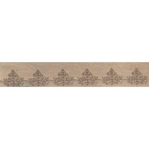 Плитка керамограніт Мербау 20х119.5 орнамент бежевий