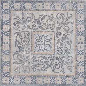 Декор Бромлі 40.2х40.2 сірий