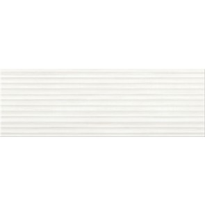 Плитка стіна Elegant Stripes 25х75 white structure