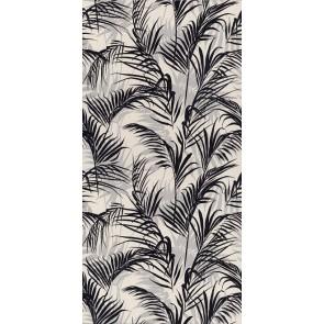 Плитка Тропикаль листья обрезной 30х60х9 черный