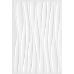 Плитка стена Карнавал в Венеции белый волна 20х30