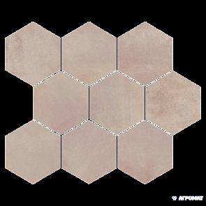 Декор Opoczno Arlequini Mosaic Hexagon 28х33.7