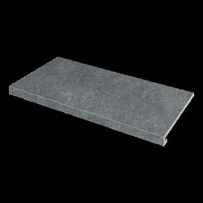 Сходинка кутова ліва Concrete 345x600x35x10.2 nero SZRXRM9RR1
