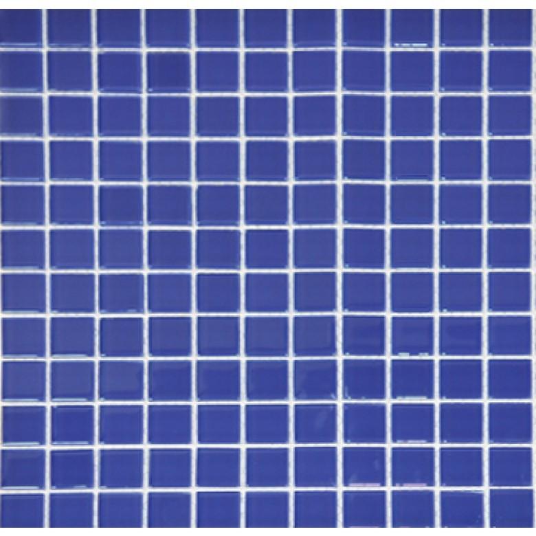 Мозаика Vivacer одноцвет Синий B028 30х30