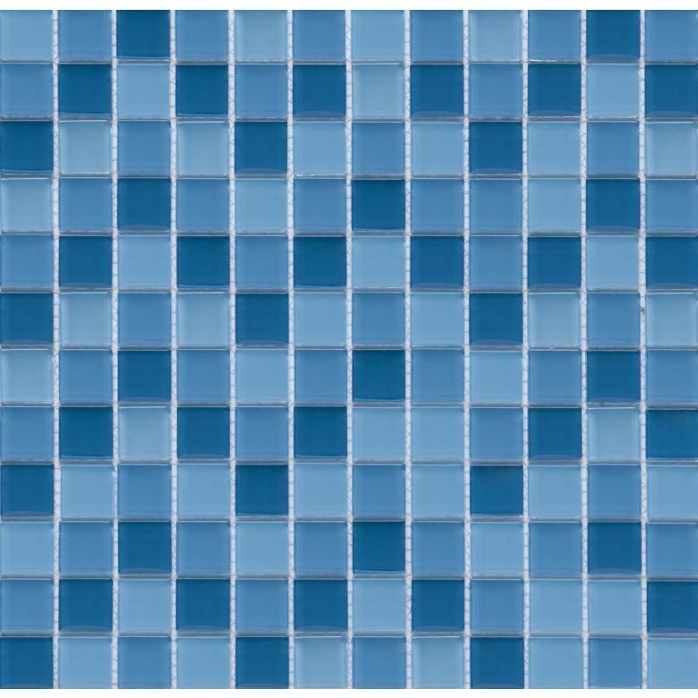 Мозаика Vivacer Голубой микс CMmix02 30х30