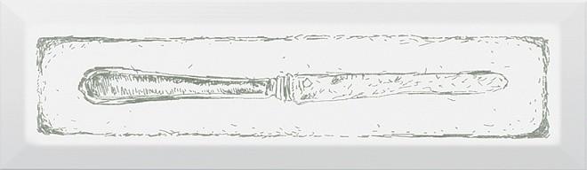 Декор Гамма Knife 8,5х28,5 зелений
