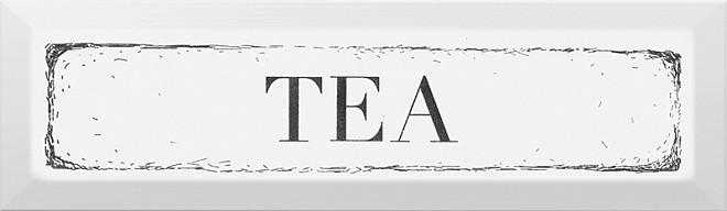 Декор Гамма Tea 8,5х28,5 чорний