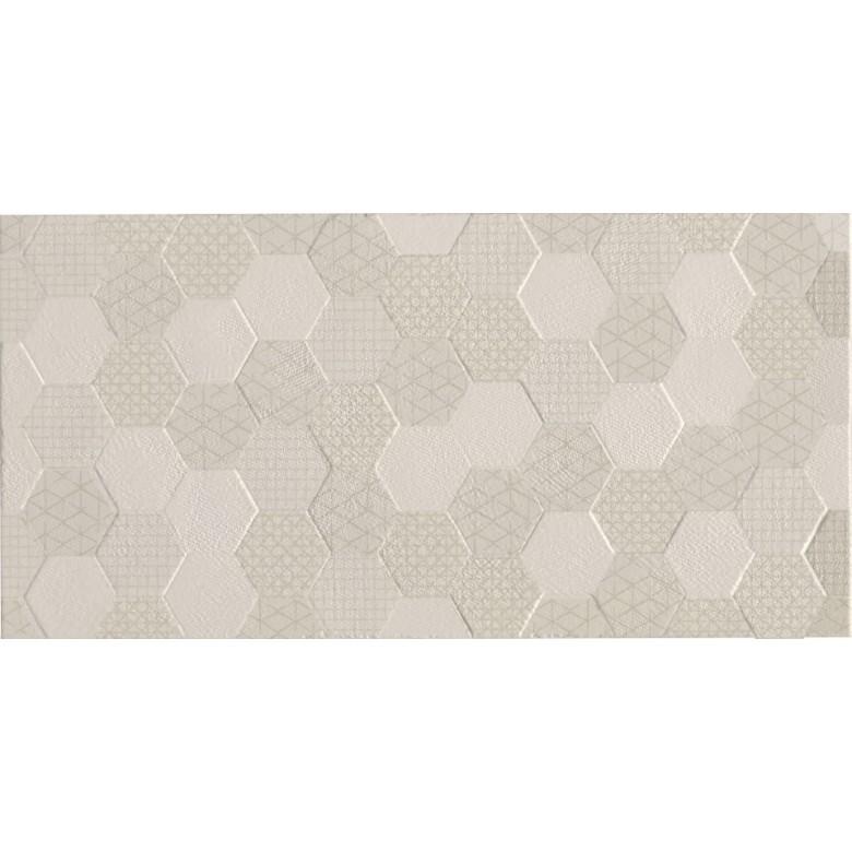 Плитка Стена Grafen Hexagon Beige 30х60