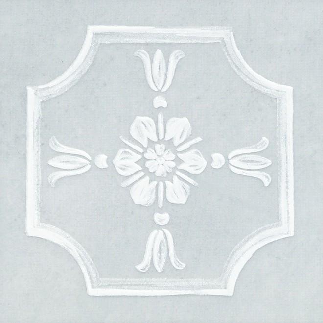Вставка Каподімонте 14.5х14.5 блакитний