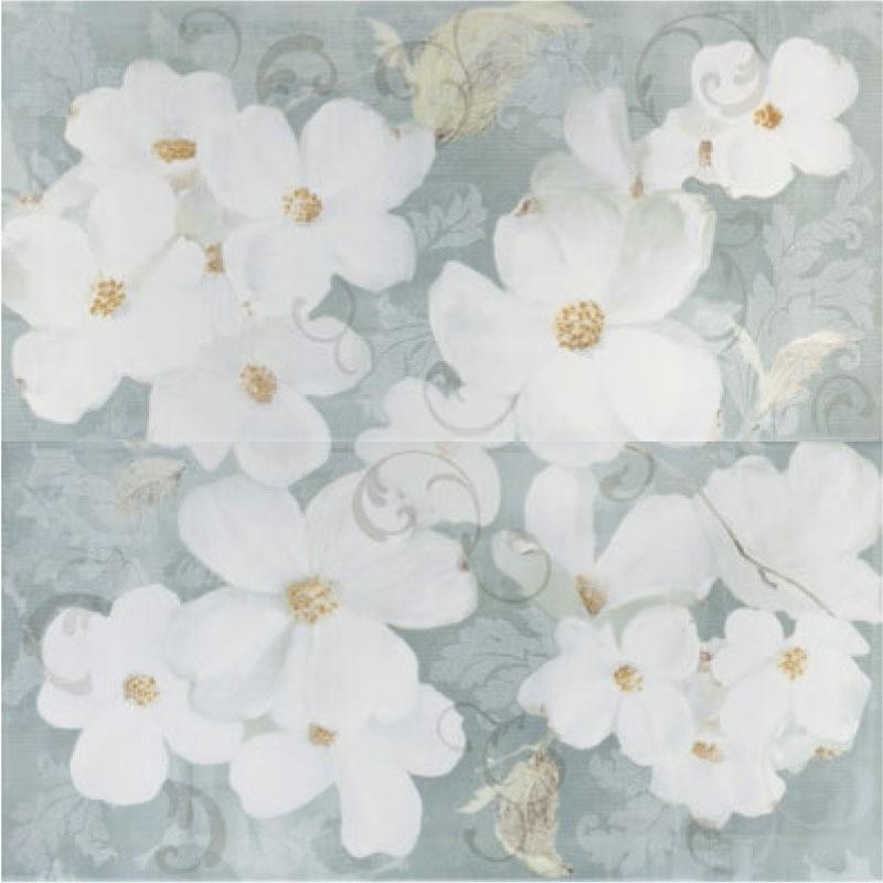 Панно Romantic Story 59.4х60 panno flower (з 2-х шт.)