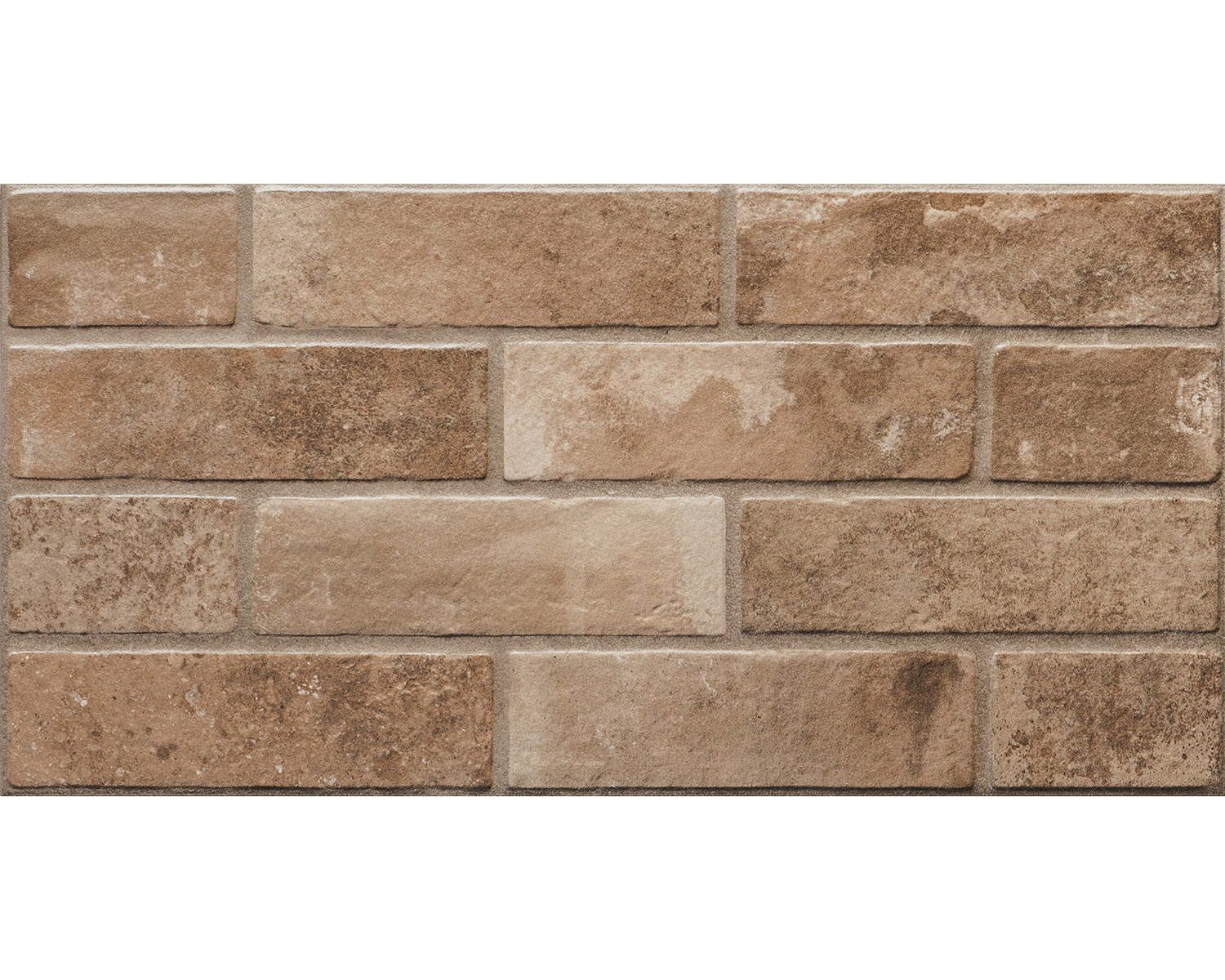 Плитка керамограніт Brickstone 30x60 red ZNXBS2