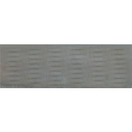 Плитка стіна РАВАЛЬ 30х89,5 сірий структура обрізний