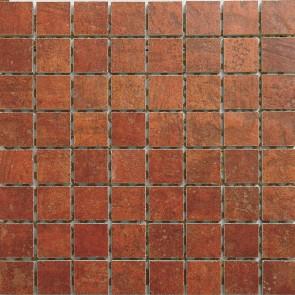 Мозаика COTTO CLASSICO 32,5x32,5 ROSSO MQAX22