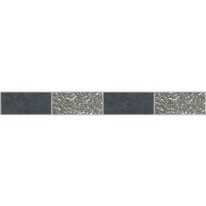 Декор CEMENTO 5x45 Platinum Nero MFXF98