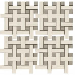 Мозаика MARMO ACERO 30x30 BIANCO MMCXMA18