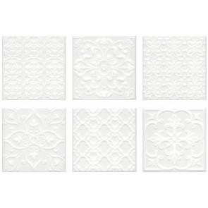 Плитка стена Суррей 20х20 белый