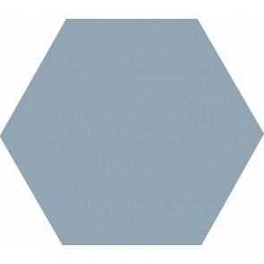 Плитка Аньет темно голубая 20х23,1