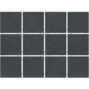 1291 | Амальфи черный, полотно 30х40 из 12 частей 9,9х9,9
