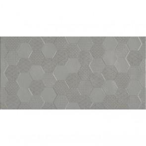 Плитка Стена Grafen Hexagon Grey 30х60