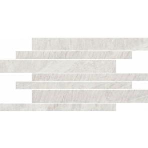 Мозаика Yakara 22.2х44.6 white mosaic